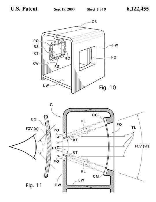 Patent-drwg-6,122,455-LenslessVF-540w-