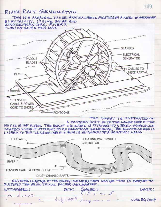 Waterwheel-Generator-Hines-notebook-p149-665p